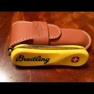 Breitling Wenger Swiss Army Knife RARE